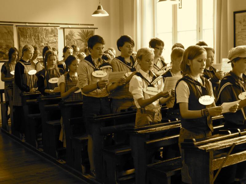 150 schule jahren vor Lernen wie